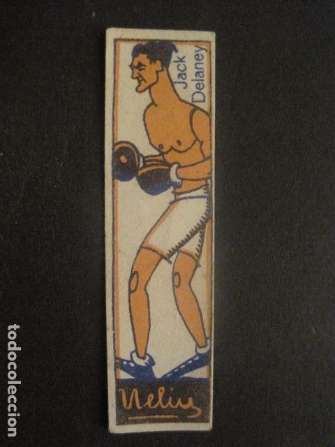CROMOS BOXEO - JACK DELANEY - CHOCOLATES NELIA - VER FOTOS - (V-9744) (Coleccionismo Deportivo - Cromos otros Deportes)