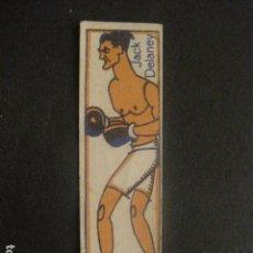Coleccionismo deportivo: CROMOS BOXEO - JACK DELANEY - CHOCOLATES NELIA - VER FOTOS - (V-9744). Lote 80144085