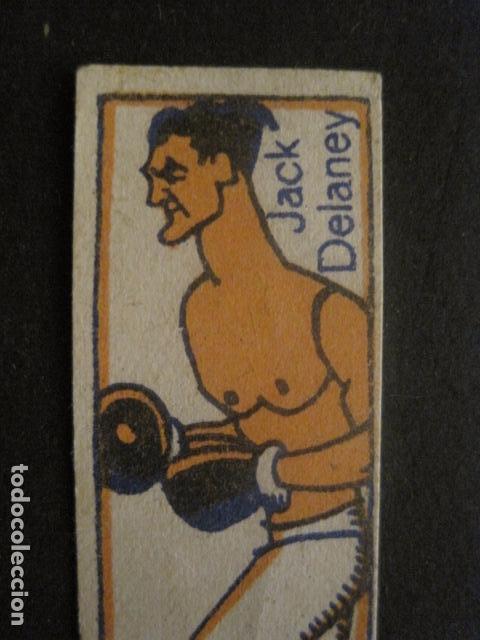 Coleccionismo deportivo: CROMOS BOXEO - JACK DELANEY - CHOCOLATES NELIA - VER FOTOS - (V-9744) - Foto 2 - 80144085