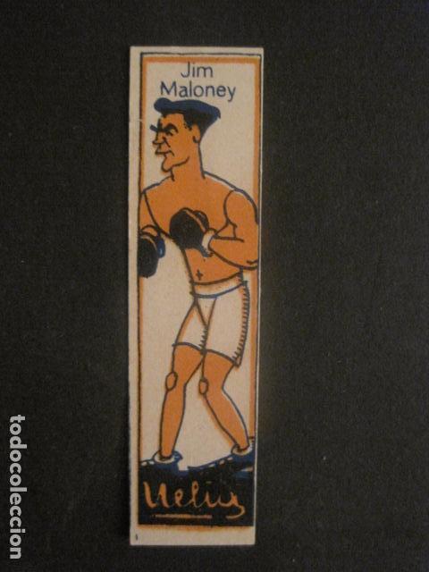 CROMOS BOXEO - JIM MALONEY - CHOCOLATES NELIA - VER FOTOS - (V-9747) (Coleccionismo Deportivo - Cromos otros Deportes)