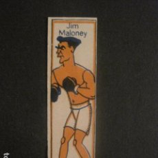 Coleccionismo deportivo: CROMOS BOXEO - JIM MALONEY - CHOCOLATES NELIA - VER FOTOS - (V-9747). Lote 80144857