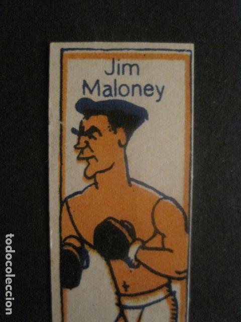 Coleccionismo deportivo: CROMOS BOXEO - JIM MALONEY - CHOCOLATES NELIA - VER FOTOS - (V-9747) - Foto 2 - 80144857