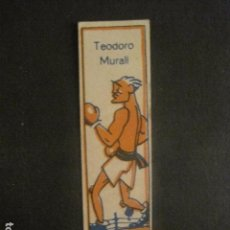 Coleccionismo deportivo: CROMOS BOXEO - TEODORO MURALI - CHOCOLATES NELIA - VER FOTOS - (V-9748). Lote 80144937