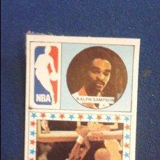 Coleccionismo deportivo: CROMO BALONCESTO 86/87. EEUU NBA HOUSTON ROCKETS RALPH SAMPSON. Lote 86168336