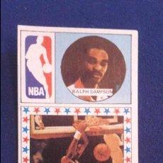 Coleccionismo deportivo: CROMO BALONCESTO 86/87. EEUU NBA HOUSTON ROCKETS RALPH SAMPSON NUNCA PEGADO . Lote 86168364