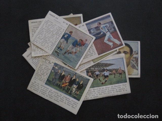 LOTE 12 CROMOS VARIOS DEPORTES - FUTBOL...-VER FOTOS - (V-11.004) (Coleccionismo Deportivo - Cromos otros Deportes)