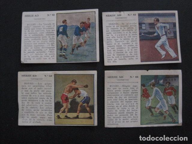 Coleccionismo deportivo: LOTE 12 CROMOS VARIOS DEPORTES - FUTBOL...-VER FOTOS - (V-11.004) - Foto 2 - 86566600