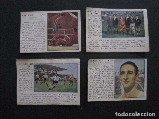 Coleccionismo deportivo: LOTE 12 CROMOS VARIOS DEPORTES - FUTBOL...-VER FOTOS - (V-11.004) - Foto 6 - 86566600
