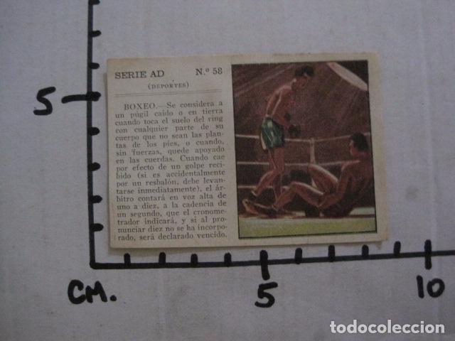 Coleccionismo deportivo: LOTE 12 CROMOS VARIOS DEPORTES - FUTBOL...-VER FOTOS - (V-11.004) - Foto 8 - 86566600