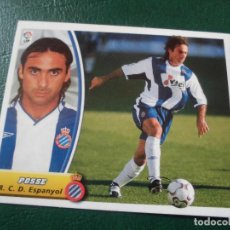 Coleccionismo deportivo: POSSE ESPAÑOL CROMO 03 04 ED ESTE LIGA 2003 2004 FUTBOL CAMPEONATO - SIN PEGAR 217 BAJA. Lote 109316295