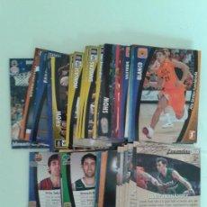 Coleccionismo deportivo: LOTE DE 67 CROMOS PANINI LIGA ACB 08 09 TEMPORADA 2008 2009. Lote 87656064