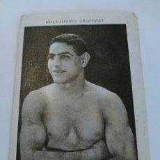 Coleccionismo deportivo: CROMO SERIE BOXEADORES CÉLEBRES - JIM MORÁN (NUMERO 21). Lote 87775354