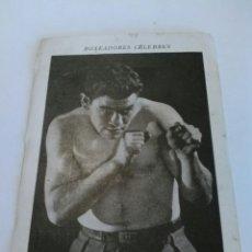 Coleccionismo deportivo: PAULINO UZCUDUN CROMO SERIE BOXEADORES CÉLEBRES - (NÚMERO 4 - AÑOS 20. Lote 87775879