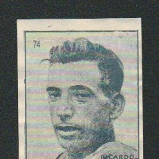 Coleccionismo deportivo: RICARDO MONTERO.CICLISMO.CROMO ESTUDIANTIL.Nº 74.ALBUM Nº 1.AÑO 1941.. Lote 89389940