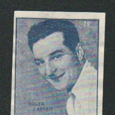 Coleccionismo deportivo: ROGER LAPEBIE.CICLISMO.CROMO ESTUDIANTIL.Nº 79.ALBUM Nº 1.AÑO 1941.. Lote 89390124