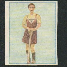 Coleccionismo deportivo: ANA Mª QUESADA.HOCKEY.INTERNACIONALES DEL DEPORTE.CROMO ESTUDIANTIL.Nº 317 BIS.ALBUM Nº 2.AÑO 1941. Lote 89578092