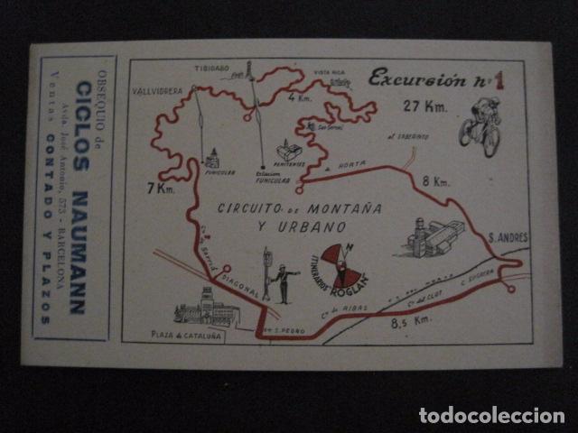 Coleccionismo deportivo: CICLISMO-COLECCION 10 CROMOS EXCURSIONES BICICLETAS-PUBLICIDAD CICLOS NAUMANN-VER FOTOS-(V-11.533) - Foto 2 - 89590476