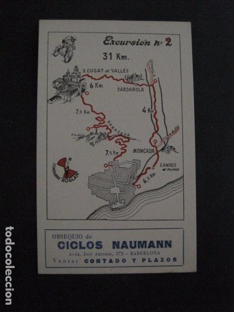Coleccionismo deportivo: CICLISMO-COLECCION 10 CROMOS EXCURSIONES BICICLETAS-PUBLICIDAD CICLOS NAUMANN-VER FOTOS-(V-11.533) - Foto 4 - 89590476