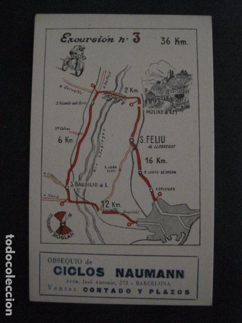 Coleccionismo deportivo: CICLISMO-COLECCION 10 CROMOS EXCURSIONES BICICLETAS-PUBLICIDAD CICLOS NAUMANN-VER FOTOS-(V-11.533) - Foto 6 - 89590476