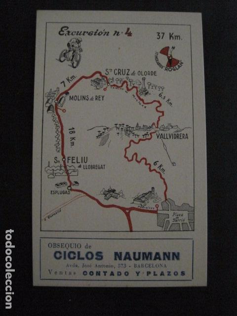 Coleccionismo deportivo: CICLISMO-COLECCION 10 CROMOS EXCURSIONES BICICLETAS-PUBLICIDAD CICLOS NAUMANN-VER FOTOS-(V-11.533) - Foto 8 - 89590476