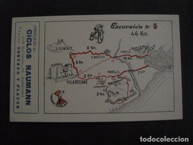 Coleccionismo deportivo: CICLISMO-COLECCION 10 CROMOS EXCURSIONES BICICLETAS-PUBLICIDAD CICLOS NAUMANN-VER FOTOS-(V-11.533) - Foto 10 - 89590476