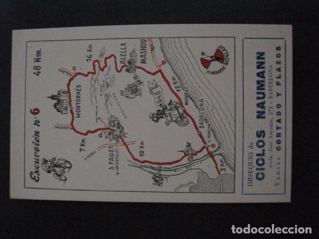 Coleccionismo deportivo: CICLISMO-COLECCION 10 CROMOS EXCURSIONES BICICLETAS-PUBLICIDAD CICLOS NAUMANN-VER FOTOS-(V-11.533) - Foto 12 - 89590476