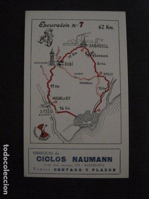 Coleccionismo deportivo: CICLISMO-COLECCION 10 CROMOS EXCURSIONES BICICLETAS-PUBLICIDAD CICLOS NAUMANN-VER FOTOS-(V-11.533) - Foto 14 - 89590476
