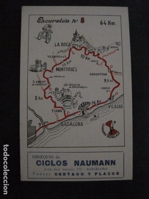 Coleccionismo deportivo: CICLISMO-COLECCION 10 CROMOS EXCURSIONES BICICLETAS-PUBLICIDAD CICLOS NAUMANN-VER FOTOS-(V-11.533) - Foto 16 - 89590476