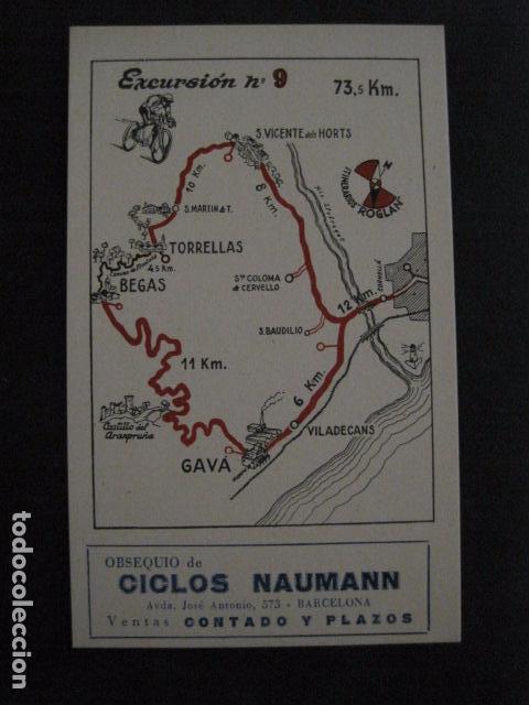 Coleccionismo deportivo: CICLISMO-COLECCION 10 CROMOS EXCURSIONES BICICLETAS-PUBLICIDAD CICLOS NAUMANN-VER FOTOS-(V-11.533) - Foto 18 - 89590476