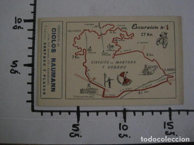 Coleccionismo deportivo: CICLISMO-COLECCION 10 CROMOS EXCURSIONES BICICLETAS-PUBLICIDAD CICLOS NAUMANN-VER FOTOS-(V-11.533) - Foto 22 - 89590476