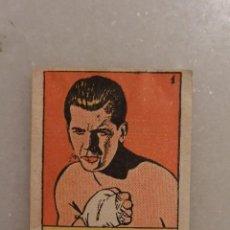 Coleccionismo deportivo: CROMO BOXEO BUENO. CROMOS CULTURA BRUGUERA 1942. Lote 89698076