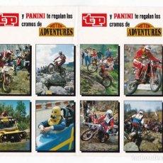 Coleccionismo deportivo: CROMOS OBSEQUIO TP MOTOR ADVENTURES PANINI. Lote 91686765