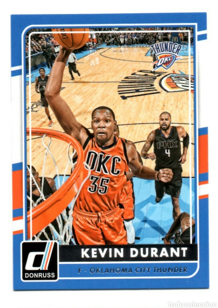 the latest 9efe4 31469 41 Kevin Durant Oklahoma City Thunder Panini Donruss 15/16