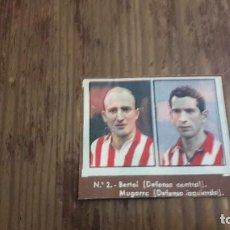 Coleccionismo deportivo: GALLINA BLANCA 2 LOTE CROMO DEL AT BILBAO . Lote 94236165