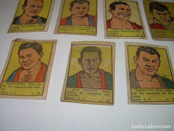 Coleccionismo deportivo: SIETE CROMOS AÑOS 20....BOXEADORES. - Foto 4 - 94424826