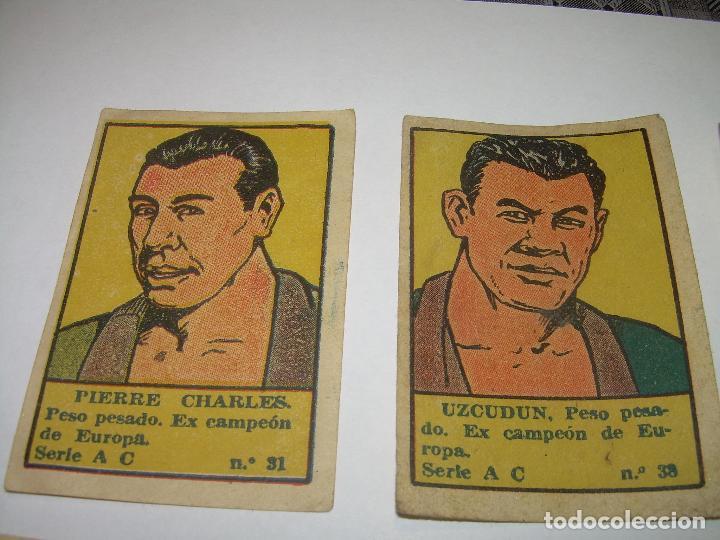 Coleccionismo deportivo: OCHO CROMOS AÑOS 20....BOXEADORES. - Foto 2 - 94424846