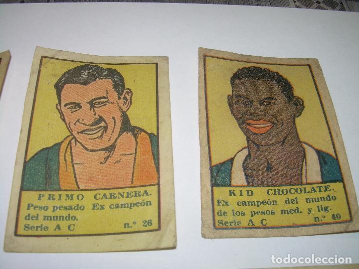 Coleccionismo deportivo: OCHO CROMOS AÑOS 20....BOXEADORES. - Foto 3 - 94424846