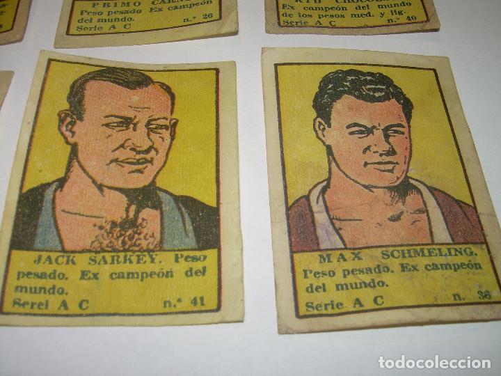 Coleccionismo deportivo: OCHO CROMOS AÑOS 20....BOXEADORES. - Foto 4 - 94424846