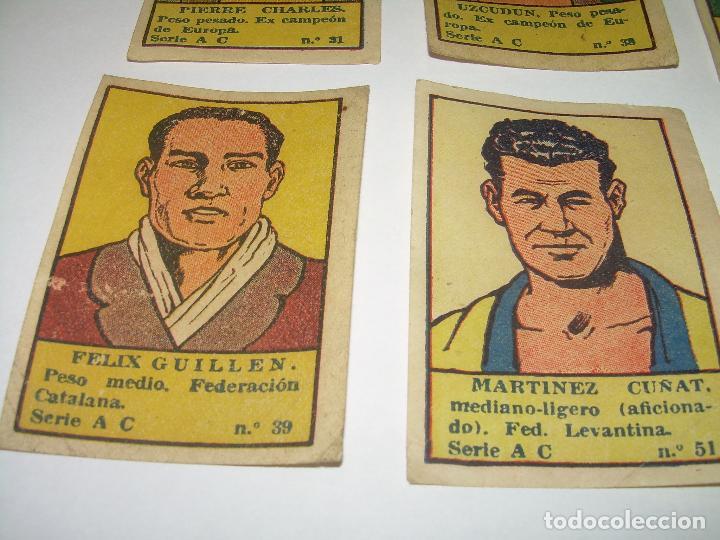 Coleccionismo deportivo: OCHO CROMOS AÑOS 20....BOXEADORES. - Foto 5 - 94424846