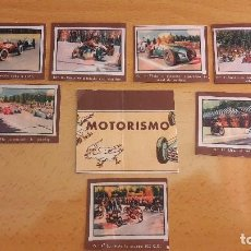 Coleccionismo deportivo: GALLINA BLANCA 2 LOTE DE CROMOS DE MOTORISMO. Lote 94786631