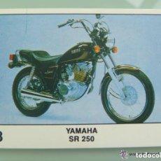 Coleccionismo deportivo: SOLO MOTO , PEGATINA DE PANINI . Nº 98 , YAMAHA SR 250. Lote 187487672