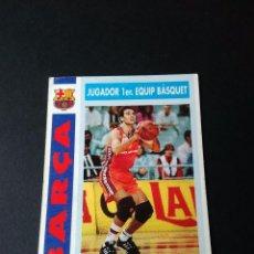 Coleccionismo deportivo: ANTIGUO CROMO DE BASKET: EPI (F.C. BARCELONA) COLECCIÓN BARÇA 92-93, 1992-1993 (BALONCESTO), Nº 72. Lote 97092339