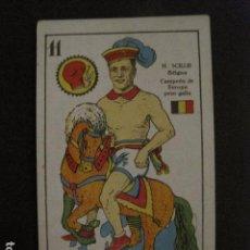 Coleccionismo deportivo: BOXEO - CROMO - CARTA - NAIPE - BARAJA - 11 OROS - H.SCILLIE - VER FOTOS - ( V- 11.941). Lote 97873015