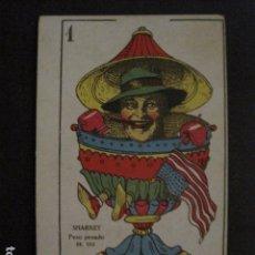 Coleccionismo deportivo: BOXEO - CROMO - CARTA - NAIPE - BARAJA - 1 COPAS - SHARKEY - VER FOTOS - ( V- 11.943). Lote 97873267