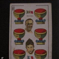 Coleccionismo deportivo: BOXEO - CARTA - CROMO - NAIPE - BARAJA - 6 COPAS - FRATTINI - MASCART - VER FOTOS- ( V- 11.948). Lote 97873731