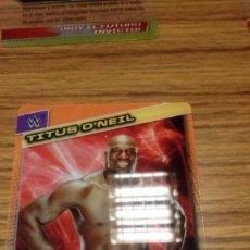 Coleccionismo deportivo: FICHA TRADING CARD LUCHA LIBRE PANINI W WWE Nº 076 B B . Lote 98509123