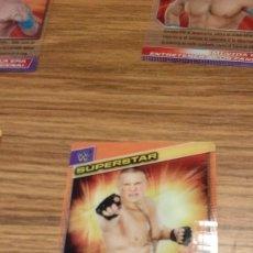 Coleccionismo deportivo: FICHA TRADING CARD LUCHA LIBRE PANINI W WWE Nº 004. Lote 98509523