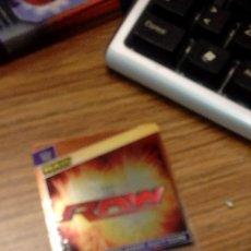 Coleccionismo deportivo: FICHA TRADING CARD LUCHA LIBRE PANINI W WWE Nº 001. Lote 98509691