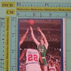 Coleccionismo deportivo: CROMO PEGATINA DE BALONCESTO NBA. BASKET 16. 19 BOSTON CELTICS. LARRY BIRD. Lote 98511979