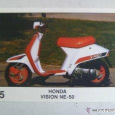 Coleccionismo deportivo: SOLO MOTO , PEGATINA DE PANINI . Nº 75 , HONDA VISION NE-50. Lote 194780093